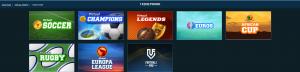 1xbet virtual Football