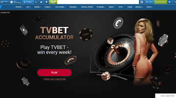 Daily TVBET Jackpot at 1xBet!