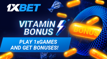 1xBet introduces the 1xGames Vitamin Promo with Bonuses