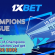 New Champions League Promo with $30,000 Prize at 1xBet!